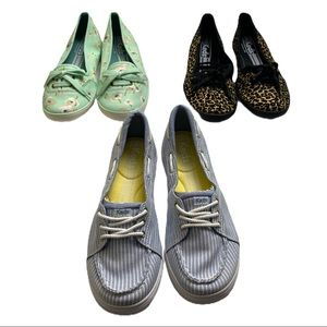 Keds Women's Shoes Lot Of 3 Pairs